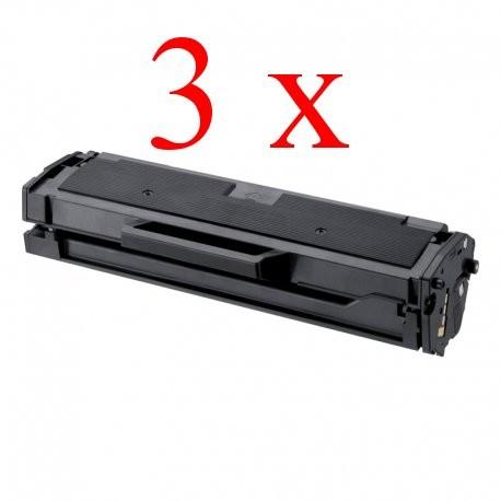 Komplet Xerox 106R02773 / Phaser 3020 / WorkCentre 3025 kompatibilni tonerji (3) - 3 × črna