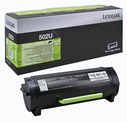 Toner Lexmark 502U / 50F2U00 - črna XXXL (original)