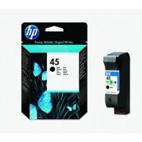 Kartuša HP 45SMALL / 51645GE - črna (original)