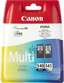 Komplet kartuš Canon PG-540 + CL-541 / 5225B006 - črna, barvna (original)