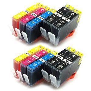 Komplet  HP 364XL kompatibilne kartuše (10) - 4× črna, 2× cyan, 2× magenta, 2× rumena
