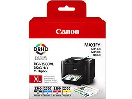 Komplet 4 kartuš Canon PGI-2500XL / 9254B004AA - črna, cyan, magenta, rumena (original)