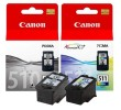 Komplet 2 kartuš Canon PG-510 + CL-511 / 2970B010 - črna, barvna (original)