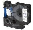 "Kompatibilen trak za Dymo D1 40914 / LabelManager / LabelPoint / LabelWriter / Rhino / MobileLabeler 9mm (3/8"") x 7m - moder izpis / bel trak"