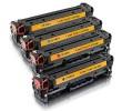 Komplet HP 312X + 3×312A / CF380X + CF381A + CF382A + CF383A / Color LaserJet Pro MFP M470, M476, M476dn, M476dw, M476nw kompatibilni tonerji (4) -  črna, cyan, magenta, rumena