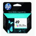 Kartuša HP 49 / 51649AE - barvna (original)