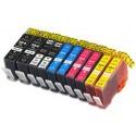 Komplet HP 364XL kompatibilne kartuše (10) - 2× črna, 2× foto črna, 2× cyan, 2× magenta, 2× rumena