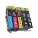 Komplet HP 364XL kompatibilne kartuše (5) - črna, foto črna, cyan, magenta, rumena